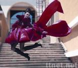 lady's fashion down coat