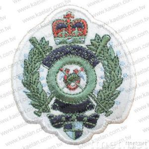 Embroiderey badges