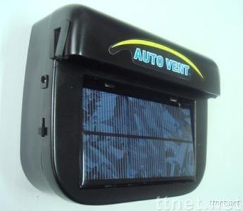 solar auto air vent