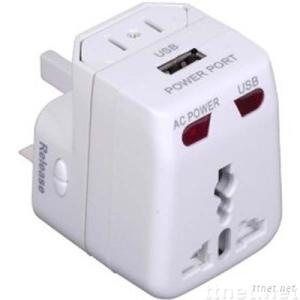 Universal Travel Adapter - USB Power Port