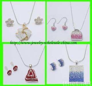 Fashion Jewelry Crystal Jewelry
