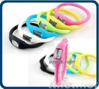 Silicone Bracelet Promotional Watch