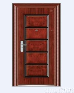 steel security door/exterior door/interior door (B41)