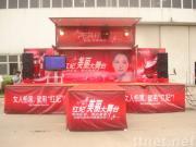 De mobiele Vrachtwagen van het Stadium