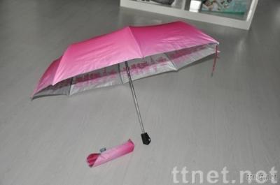 3 folded auto open&close umbrella