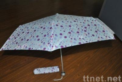 3 folding super light umbrella