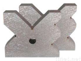 De v-Blokken van het staal