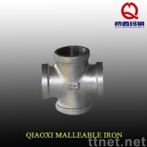 Malleable Iron Pipe Fitting, cross