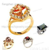 Finger-Ring, CZ-Diamant Ring