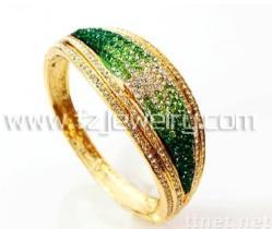 Art- und Weisearmband, Gold überzog Armband