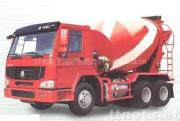De Vrachtwagen van de Concrete Mixer van Howo 6x4
