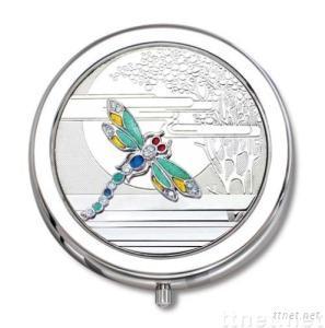 Swarovski Crystal Dragonfly Pocket Ashtray