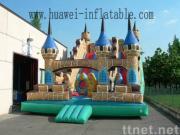 Inflatable slide park