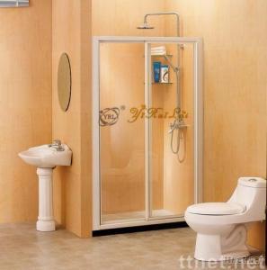 Double Sliding Doors Shower Screen