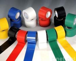 テープを包むポリ塩化ビニールの管
