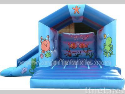 Indoor inflatable fun