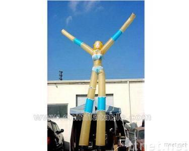 Inflatable air dancer