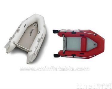 Aluminum inflatable boat
