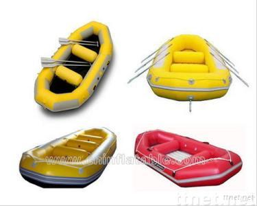 Inflatable safety boat