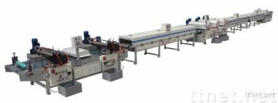 Printing production line
