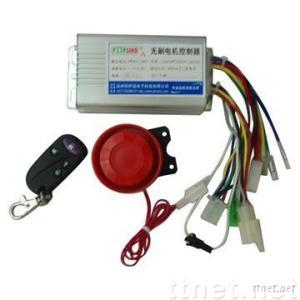 DC Motor Controller With Alarms
