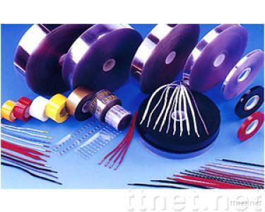 Shoelaces, garment string, ganeral string tipping film