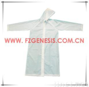 PEVA Clear Raincoat