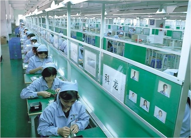 production lines