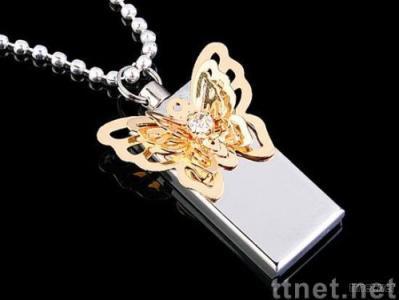 Jewelry USB Flash Drive, Christmas Gift USB Flash Drive