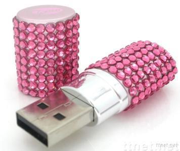 Diamond USB Flash Drive, USB Flash Memory Stick