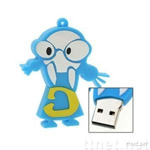 PVC USB Flash Drive, Rubber Style USB Flash Drive