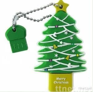 Christmas Tree USB 2.0 Disk