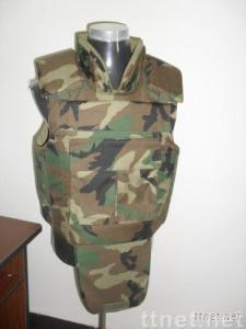 military bullet proof vest