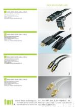 Câble à grande vitesse de HDMI