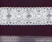 cotton lace/lace trimming/water soluble lace/garment lace