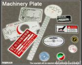(3)Machinery Plate