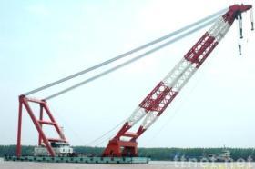 Nieuw-gebouwde Drijvende Kraan de Aak van de Kraan van 1200 Ton