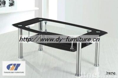 Classical Rectangle Glass Coffee Table