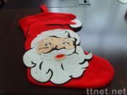 Plush Christmas Sock Toy