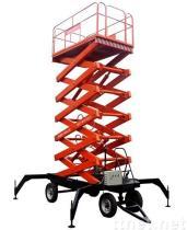 De hydraulische Mobiele Lijst van de Lift van de Schaar