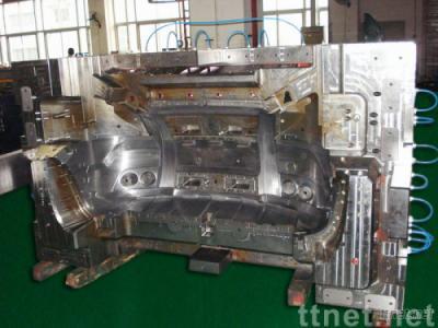 Automobile Bumper Plastic Injection Mold