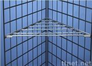 Gridwall Triangular Shelf
