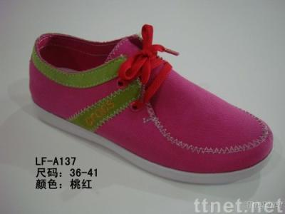 Lady Canvas Casual Shoes