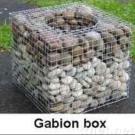 金網、Gabionのバスケット