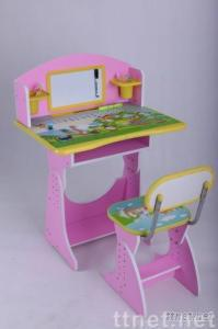 Adorable Kids Desk and Chair Set