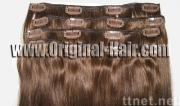 Clip On Remy Human Hair Extensions