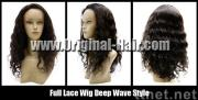 Full Lace Wig Indian Human Hair