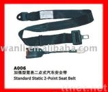 A006 Standard Static 2-Point Seat Belt