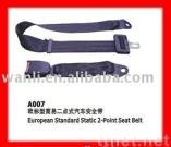 European Standard  Static 2-Point Safety Seat Belt