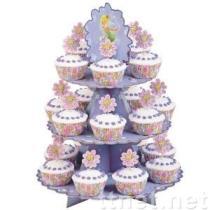 De Tribunes van Cupcake van het Karton van de Feeën van Disney voor Meisjes